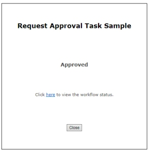 ApprovedConfirmation