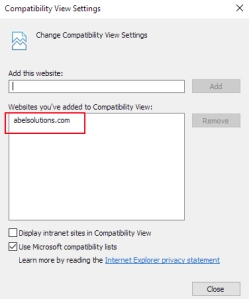 IECompatibilityViewSettingsAdded