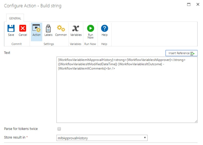 Capture Workflow Approval History on SharePoint Items